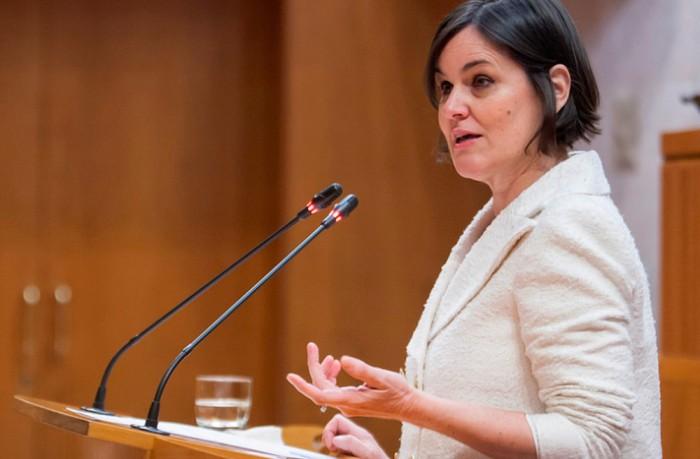 La portavoz de Hacienda del Partido Aragonés es Elena Allué